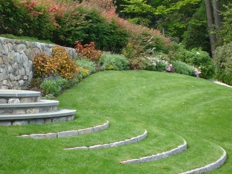 Marches Jardin Originales Marches Jardin Escalier De Jardin Jardin En Beton