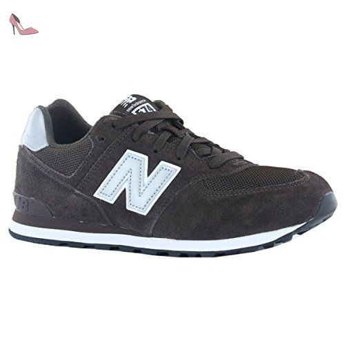Classic New Balance 574 Youth Chocolate Traditionnels 2IWEeYDH9