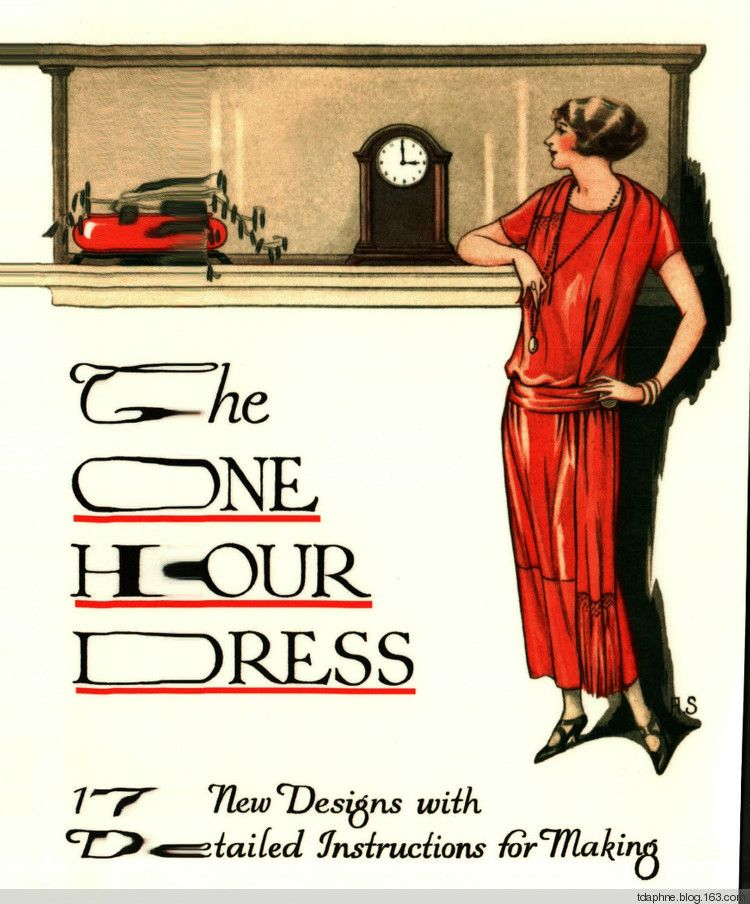 DIY 1920: The One Hour Dress (full instructions) I would love to try ...