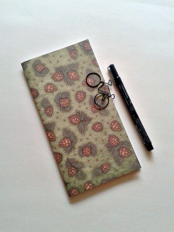 PINE BOUGHS Traveler\u0027s Notebook Insert - Midori Insert - Fauxdori