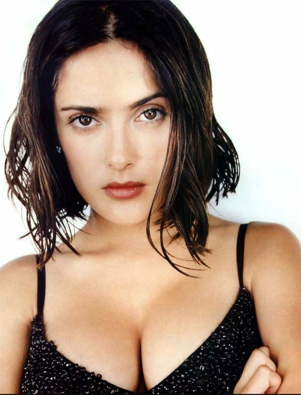 Salma hayek hot young brilliant idea