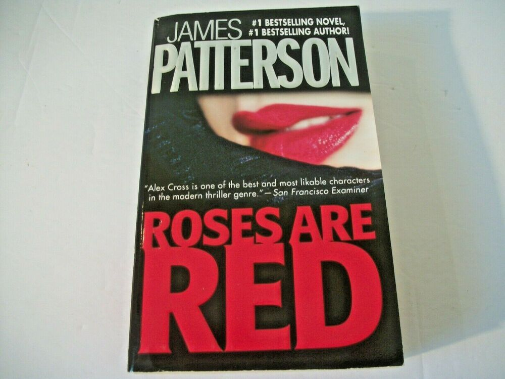 Details about alex cross roses are red 6 by james