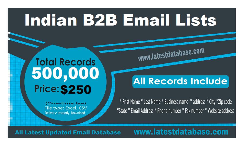 India Email List in 2019 | #bakerhughesincorporatedemployeedirectory