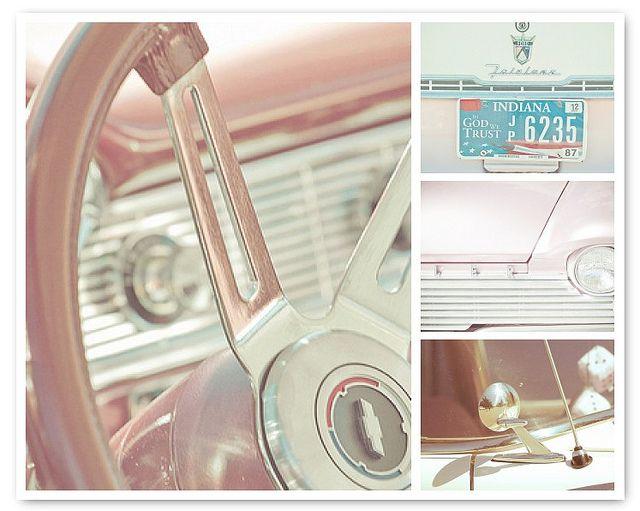 Pink Vintage | Car interiors