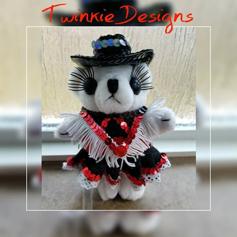 Drill Team by for Homecoming Mum by Twinkie Designs #texastwinkies Drill Team, Dressed Bear, Cypress TX #texastwinkies