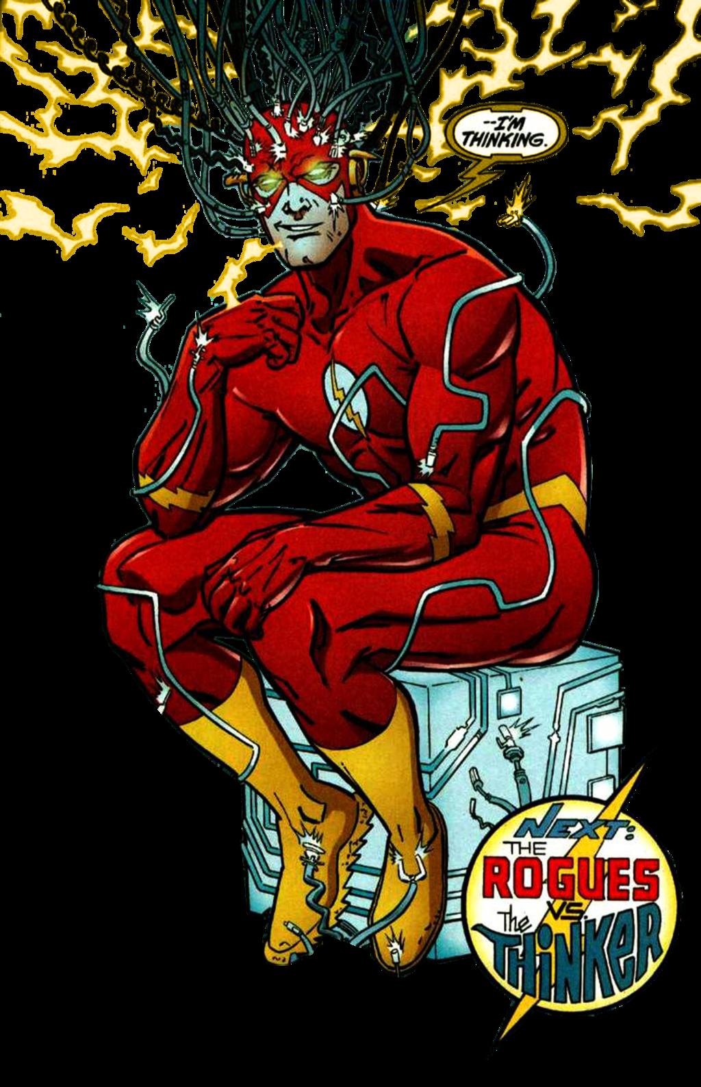 The Thinker The Flash By Dctvu Dbaazce Png 1024 1587 The Flash Comics Dc Comics