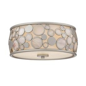 Quoizel fairgate 14 in w silver ceiling flush mount light lowes quoizel fairgate 14 in w silver ceiling flush mount light lowes 102 kitchen mozeypictures