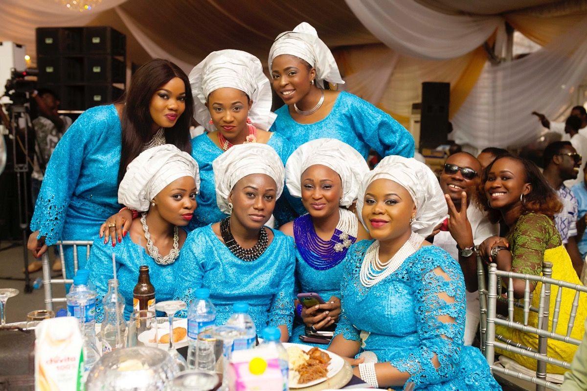 Yoruba Traditional Wedding in Lagos, Nigeria | Traditional wedding ...