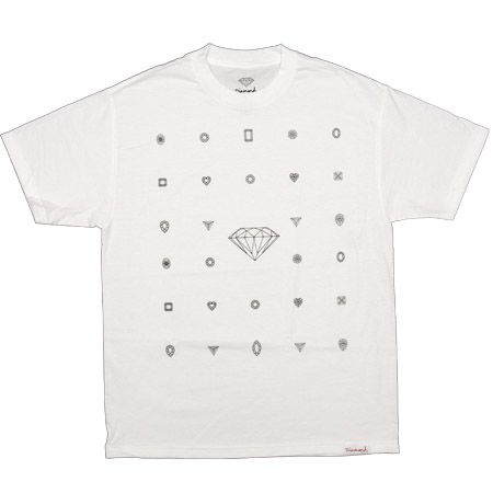 ($30) Many Diamonds Tee in White  **  hmmm. need white tees. might be lame tho