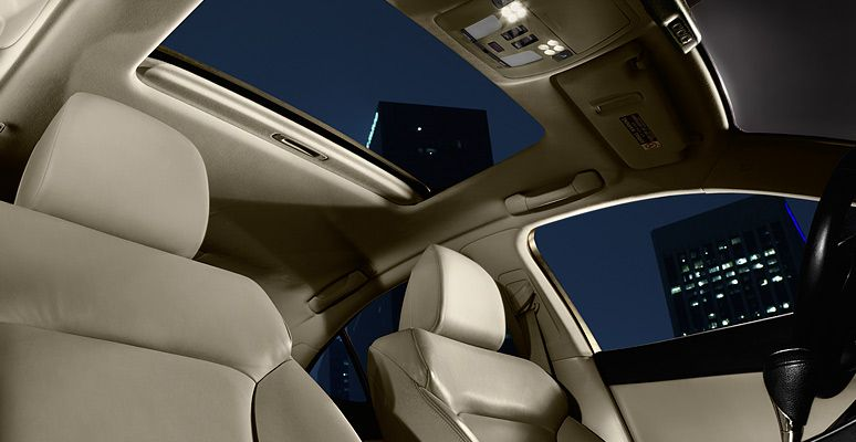 Is shown in ecru leather trim lexus car seats leather