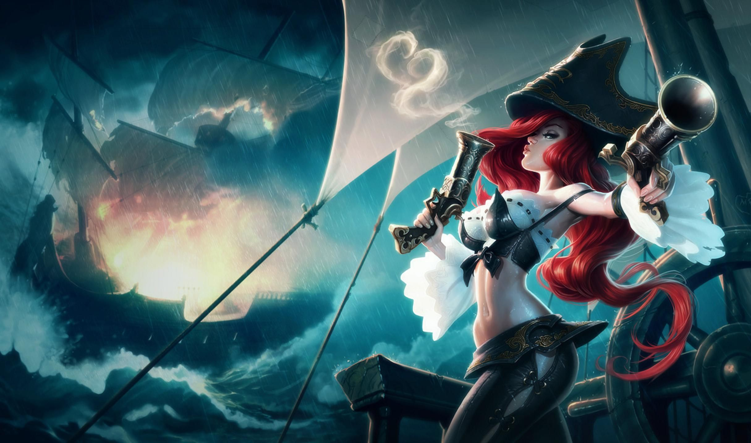 73 Miss Fortune (League Of Legends) HD Wallpapers | Backgrounds