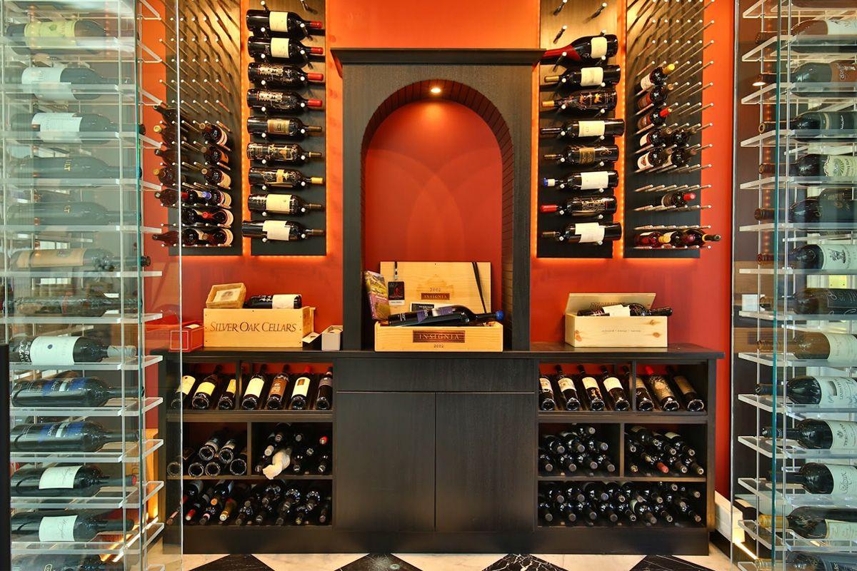 Pin By Vineyard Wine Cellars On Modern Wine Cellars Wine Cellar Cellar Design Wine Cellar Design