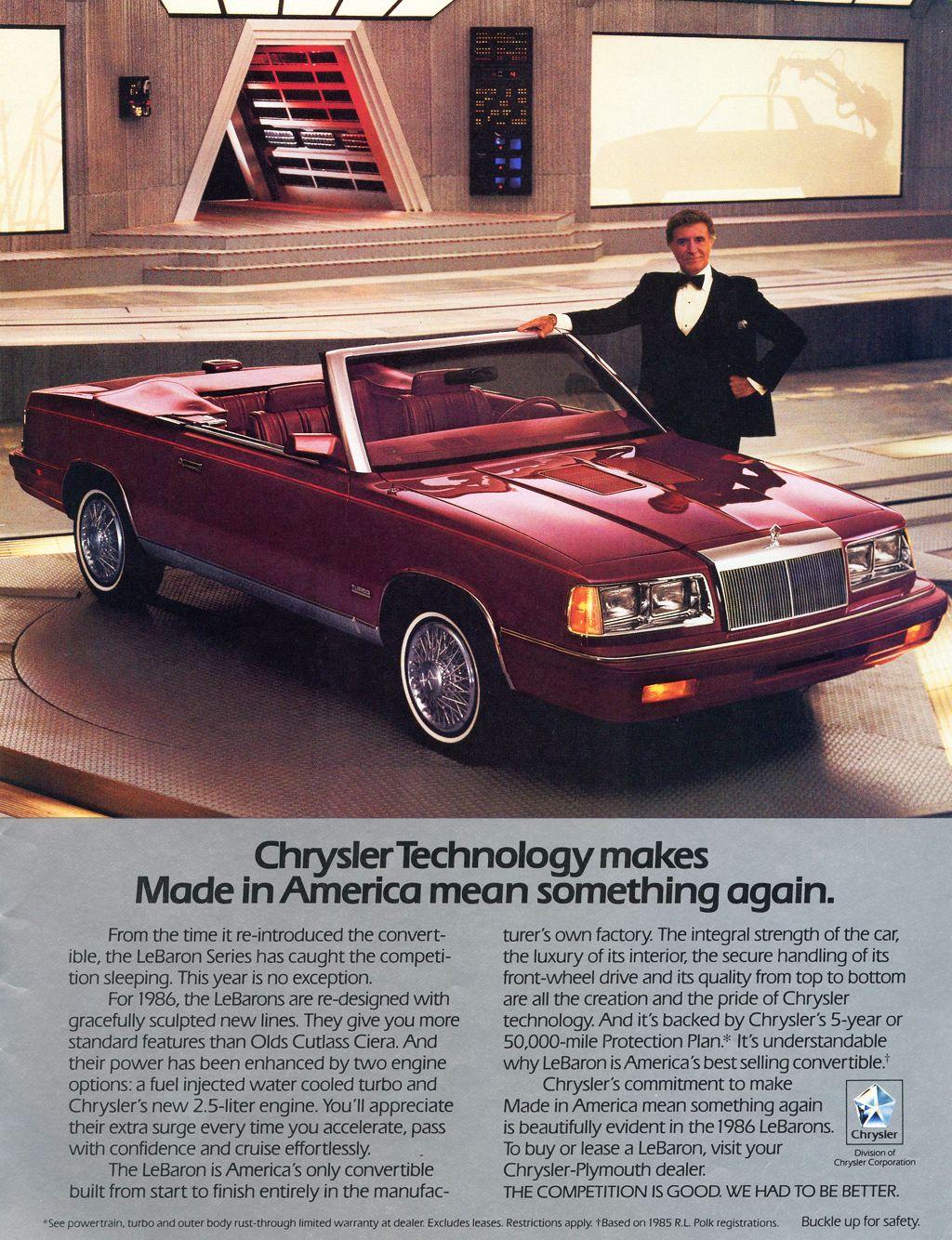 21d 1986 Chrysler Lebaron Ad With Ricardo Montalban Jpg 1024 1334
