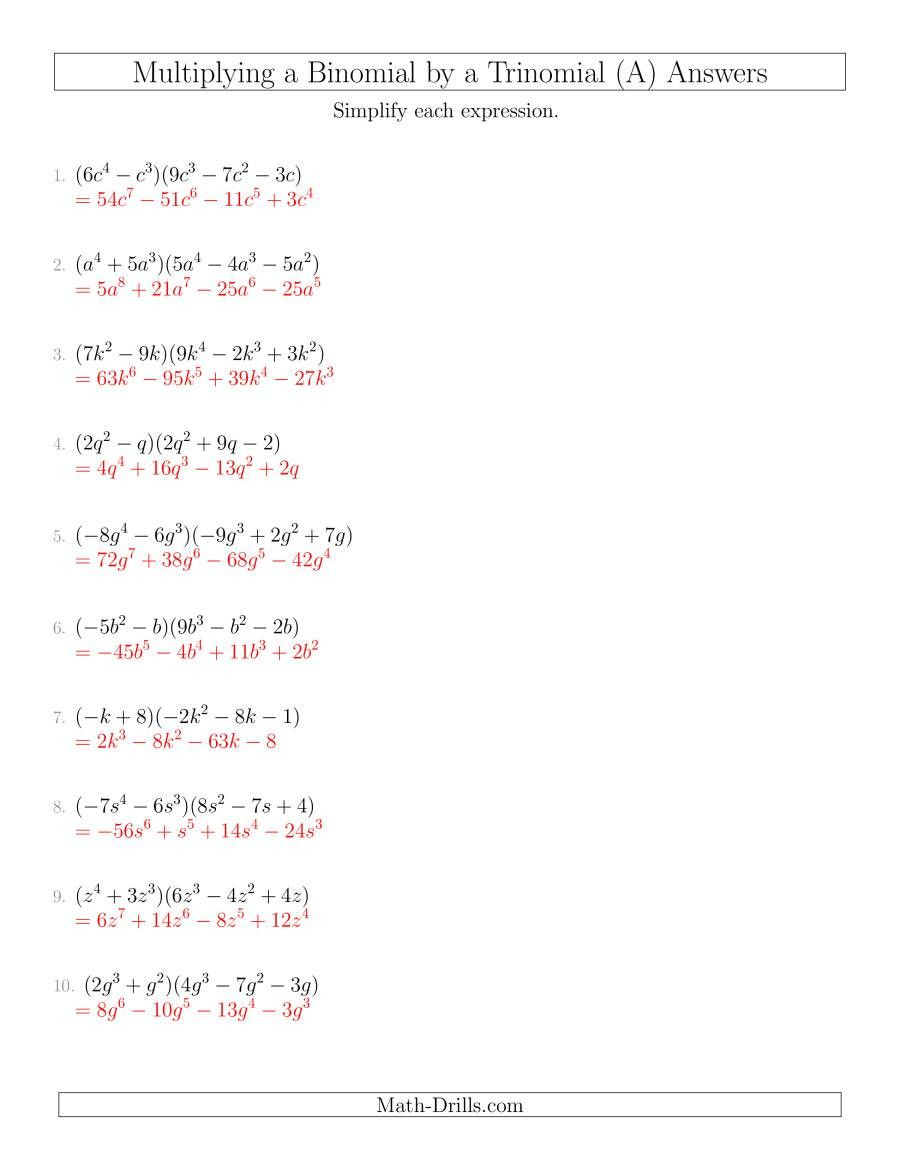 Operations With Polynomials Worksheet In 2020 Word Problem Worksheets Word Problems Polynomials