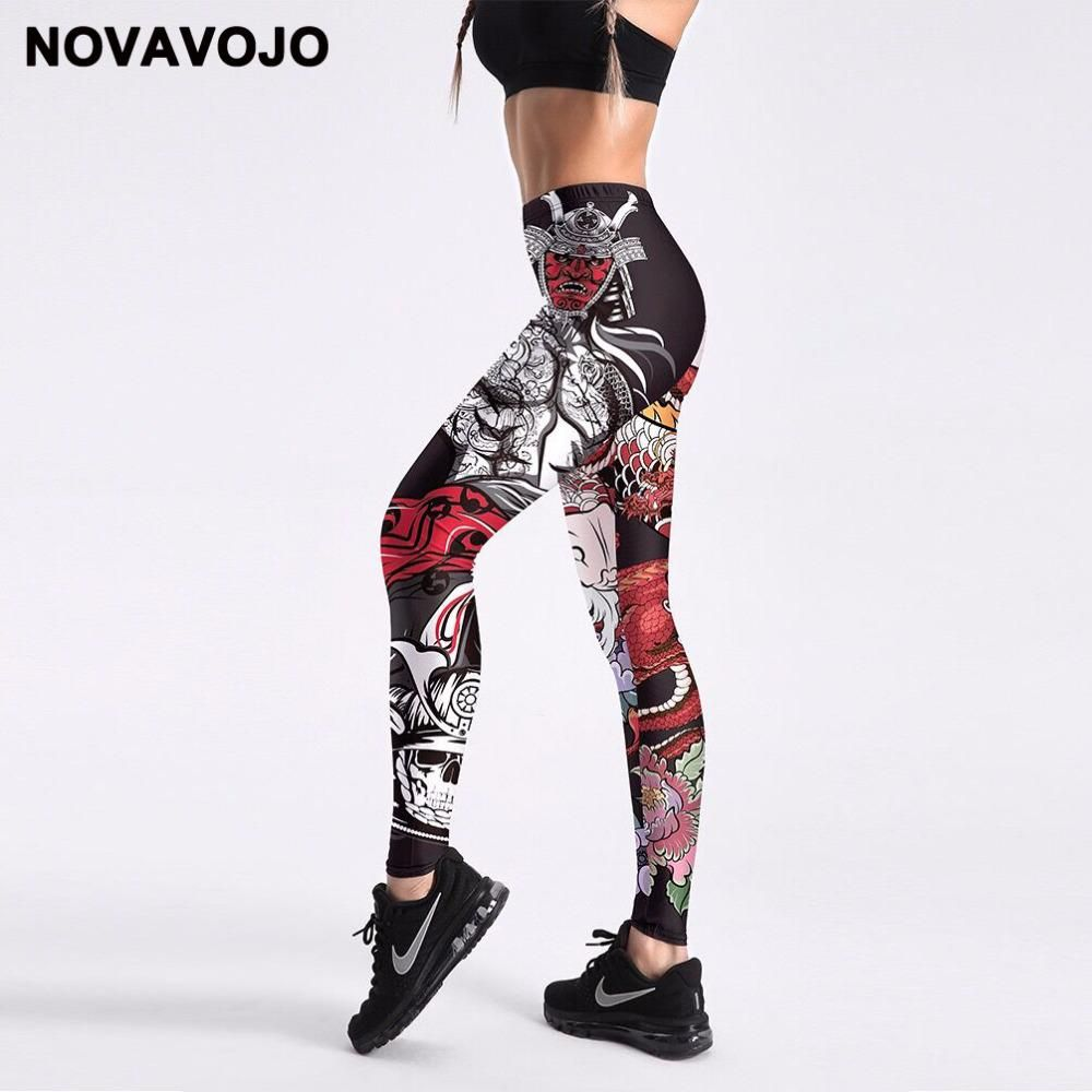 e18d1e89b5a0d NOVAVOJO Fitness Leggings 3D Printed Anime Women Leggings Summer High Waist  Workout Leggings Street Fashion Pants. Yesterday's price: US $14.64 (12.63  EUR).