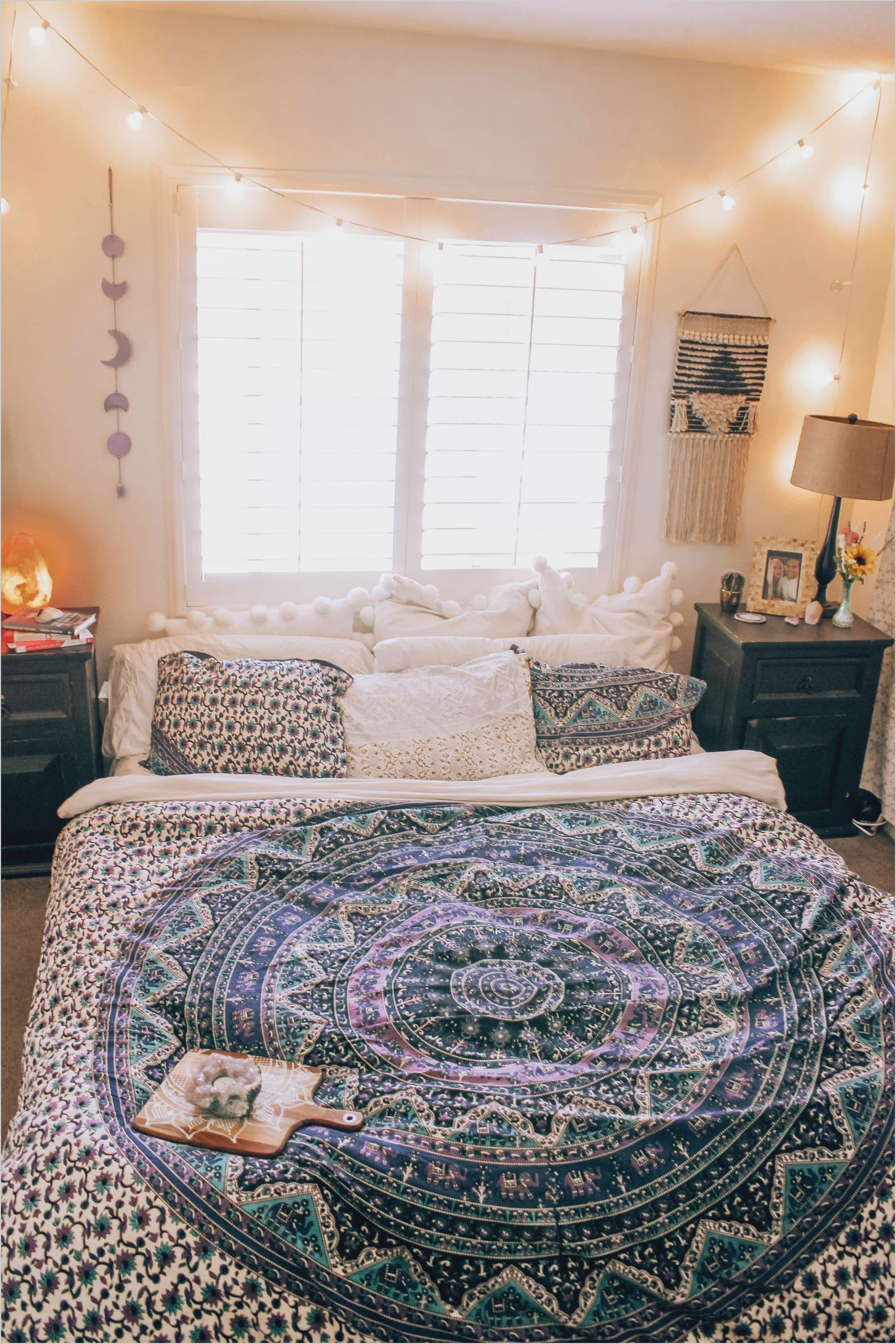 Lavender Love Mandala Tapestry With Images Boho Bedroom Design
