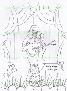 Collectables Colouring Book Dolly Part Ners Uk Dolly Parton Fan Community Coloring Books Artwork Dolly