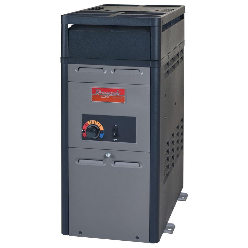 Pr106aenc 106 000 Btu In Ground Natural Gas Heater Pool Heater Spa Heater Swimming Pool Heaters