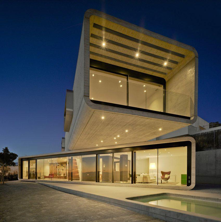 Maximiser les vues imprenables dune maison contemporaine avec un ...
