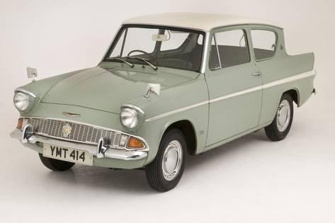 Photographic Print: 1966 Ford Anglia Super 105E : 12x8in
