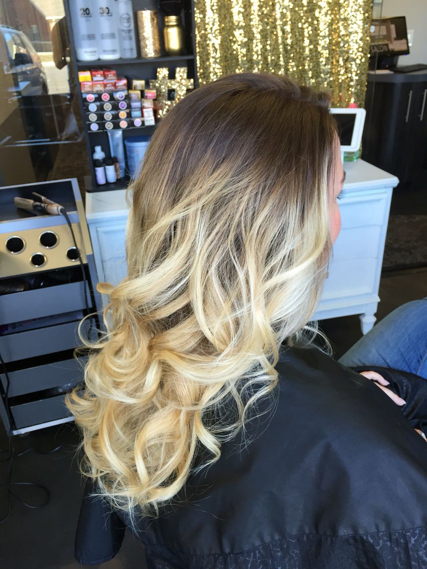 Smudge root & blonde ombré | Hair I've done | Glamorous ...