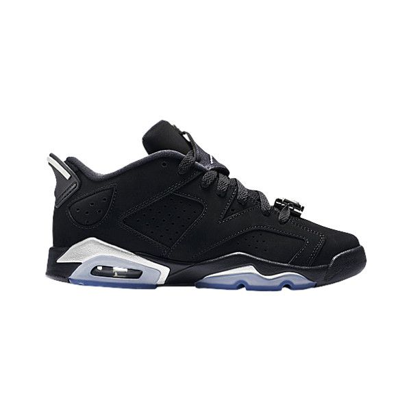6139795d072966 Jordan Retro 6 Low Boys  Grade School ( 120) ❤ liked on Polyvore featuring
