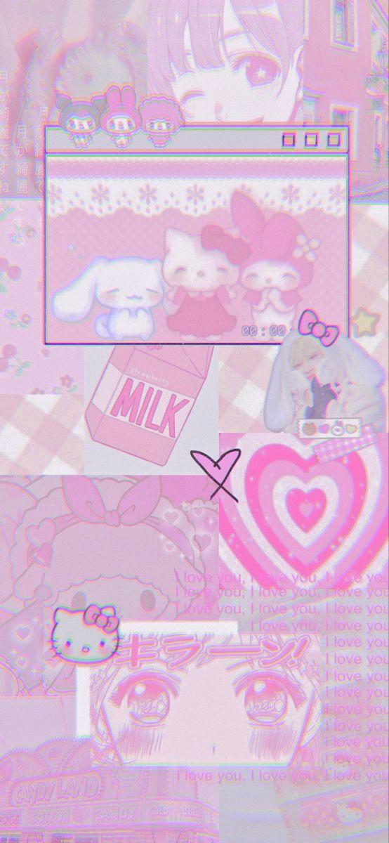 Neon Pink Phone Wallpaper
