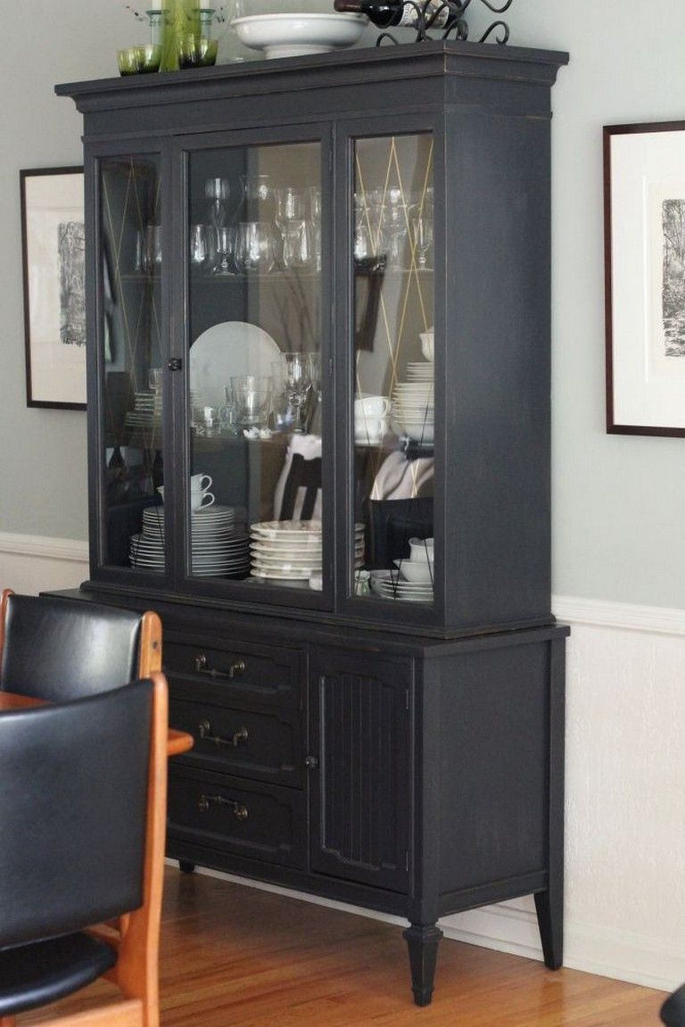 40+ AMAZING CHINA CABINET MAKEOVER IDEAS images