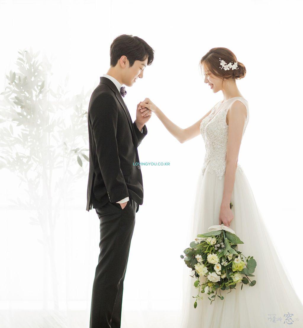 MIRROR & WINDOW [BLUE] - KOREA PRE WEDDING PHOTOSHOOT by LOVINGYOU