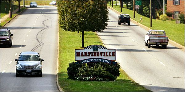 Martinsville, Virginia Where I come from!