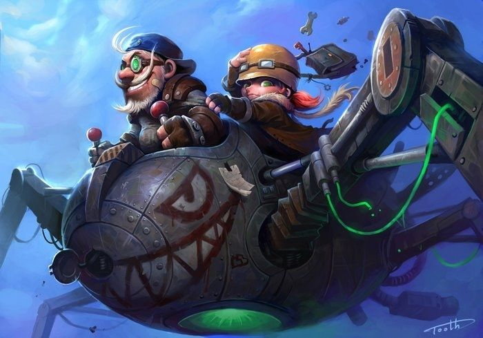 In Wow Legion You Will Discover That Gnome Becomes A Hunter A New Hunter Pet Family Also Appears Ht Warcraft Art Fantasy Art World Of Warcraft