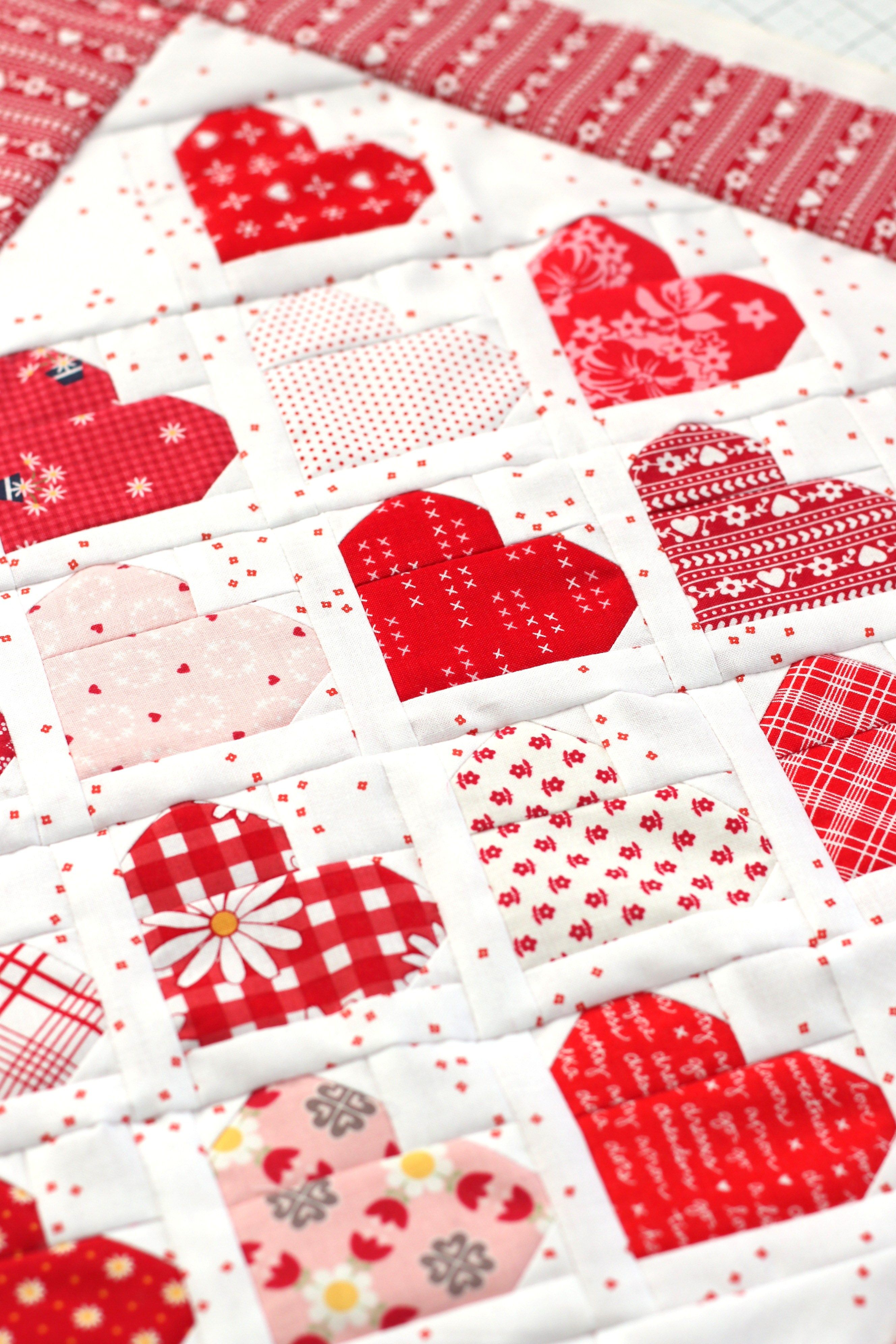 Quilts And Projects To Sew For Valentines Day