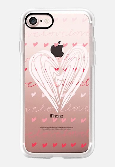 Casetify iPhone 7 Classic Grip Case - Love Love Love by Anchobee #Casetify
