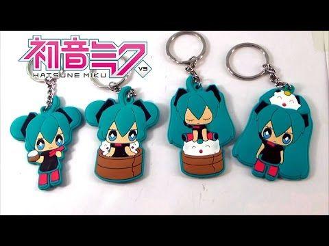 Vocaloid Hatsune Miku Soft Plastic Keychains Hatsune Miku Soft Plastic Hatsune