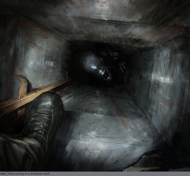 Photo of Alien : Neil Blomkamp publie des artworks du film qui ne verra pas le jour