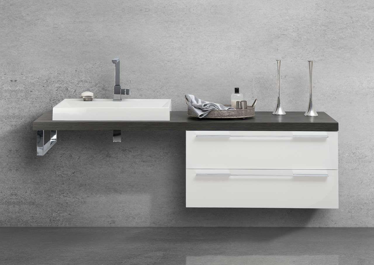 Badmöbel Waschtischplatte nach Maß, ohne Aufsatzbecken Jetzt ...