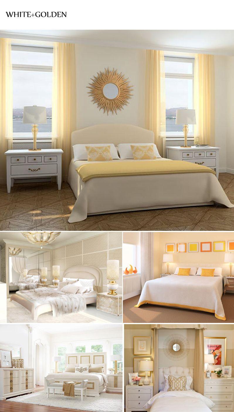 White Golden Rooms Luxury Rooms White Bedroom Luxurious Bedrooms Luxury Rooms