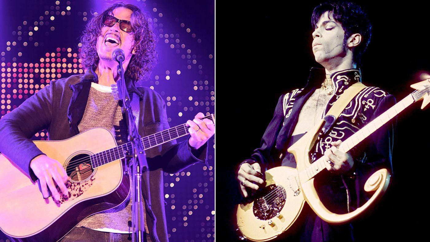 Hear Chris Cornell S Passionate Prince Tribute Nothing Compares 2 U Prince Tribute Chris Cornell Tribute