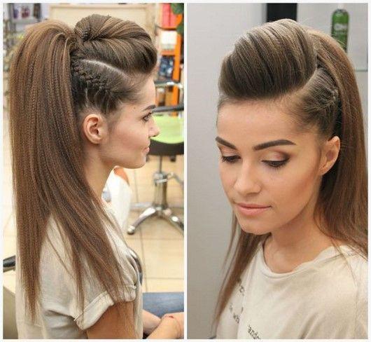 Beautiful Makeup Hairstyles 2018 2019 Best Ideas Photo New Items Beautiful Hairstyles Ideas Items Makeup In 2020 Long Hair Styles Medium Hair Styles Hairstyle
