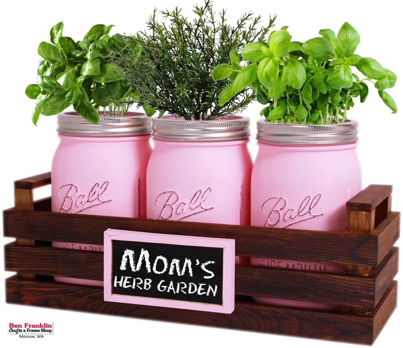 Diy Mom S Herb Garden Mom Diy Mothersday Gifts Diy Diy Crafts