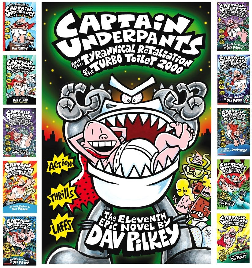 Win A Full Set Of Signed Captain Underpants Books Uk Only Ends 11