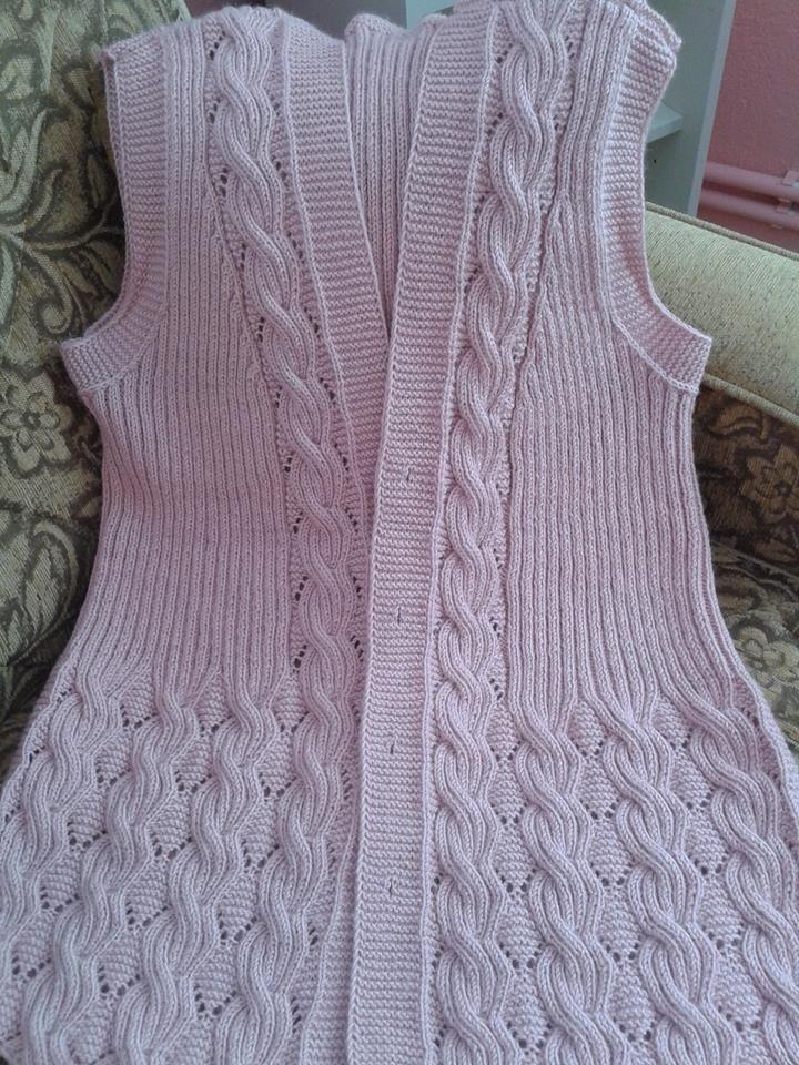 AÇIKLAMALI ÖRGÜLER | yelek | Pinterest | Crochet, Knitting patterns ...