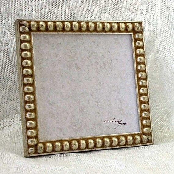 5x5 Silver Boule Picture Frame Square Format par mackenzieframes ...