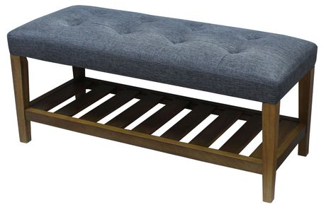 Padded Bench With Shoe Rack Upholstered Bench Padded Bench Furniture