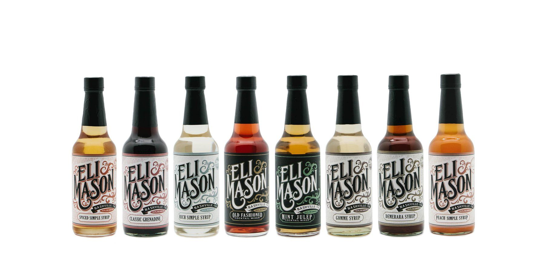 Eli Mason Cocktail Mixers Are Made With High Quality All Natural Ingredients In Nashville Tennessee Making Cocktails With Images Eli Mason Old Fashioned Cocktail Making