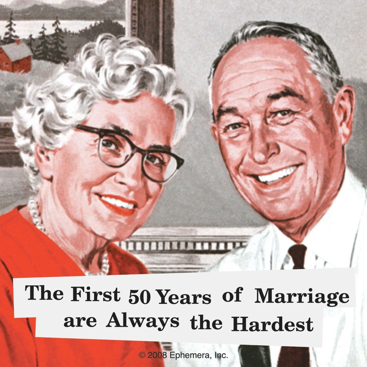 The First 50 Years Of Marriage Are Always The Hardest Single Coaster ...