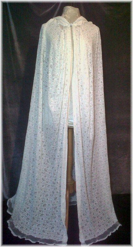 White Lace Cloak, Wedding, Bridesmaid , Just beautiful!