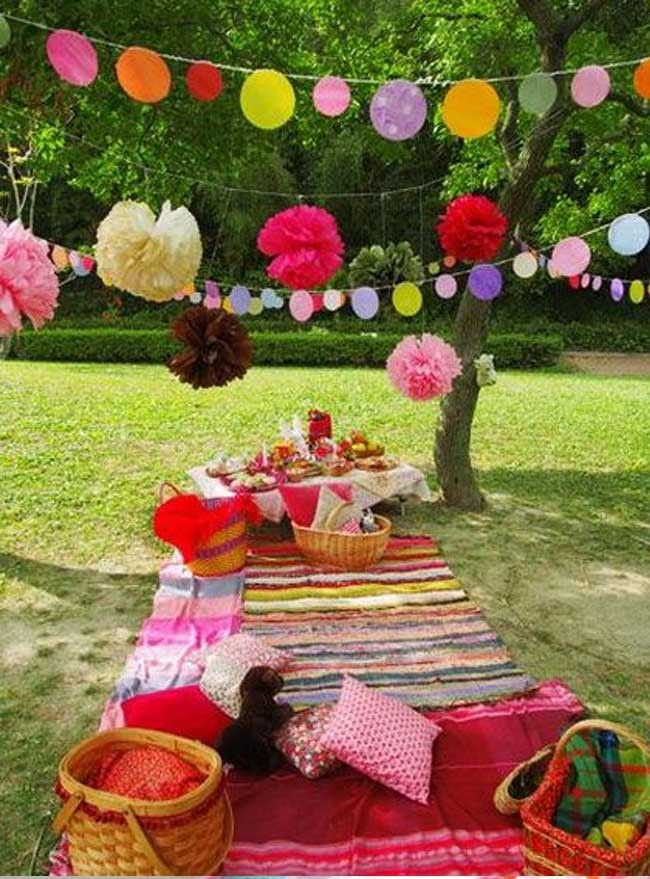 10 ideas de decoraci n para fiestas infantiles picnics for Ideas para fiestas infantiles