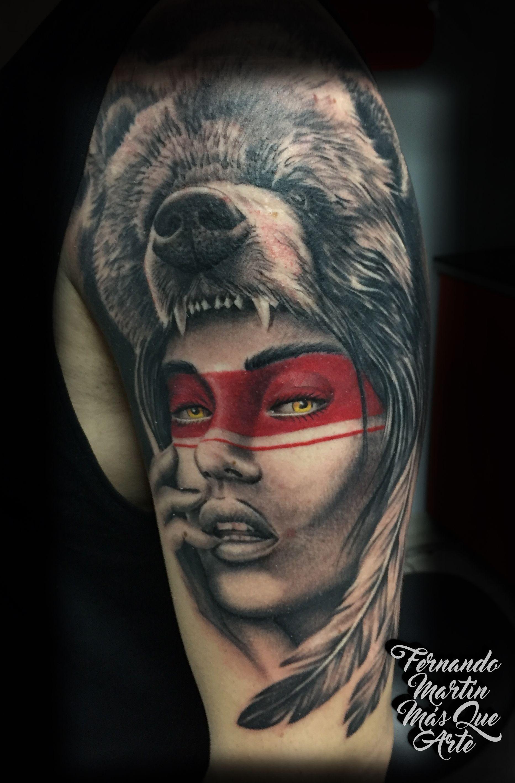 Fernando Martin Tattoo Mas Que Arte Valladolid Composición De