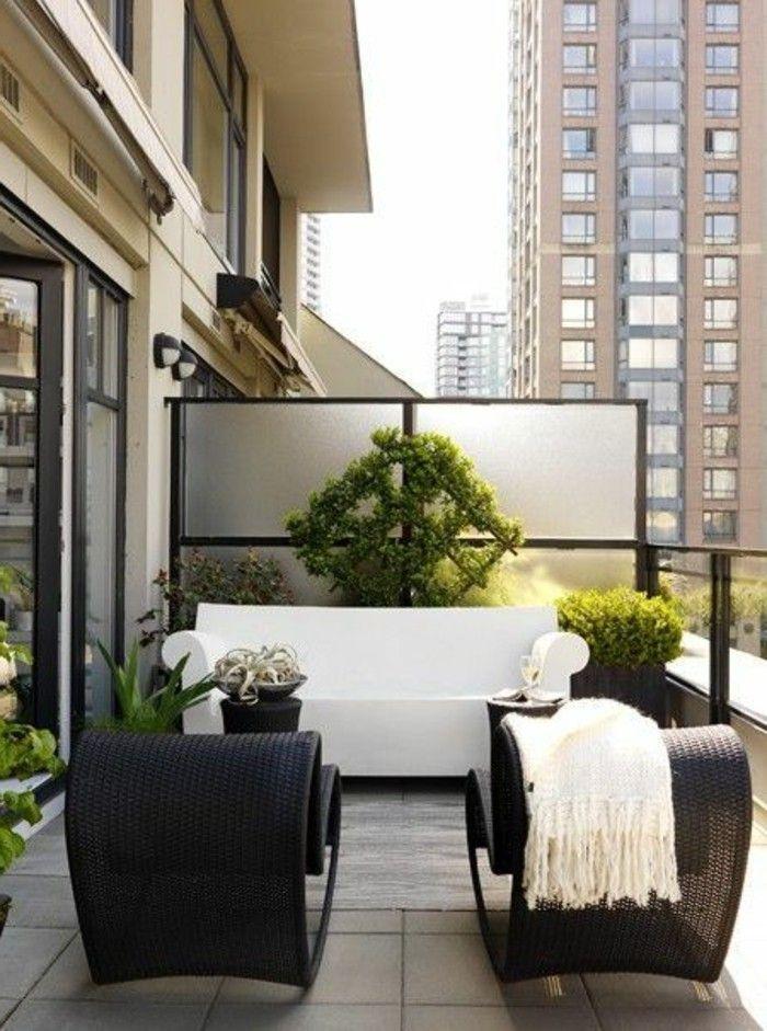 beau salon de jardin pour balcon petit prix | Décoration française ...